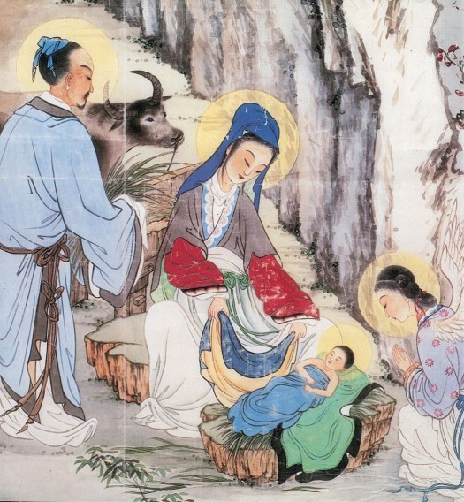 Chinese_painting_of_birth_of_Christ